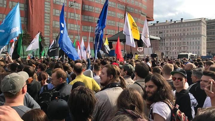 Без Навального не обошлось: Протестующие против блокировки Telegram грозят новой акцией на 5 мая