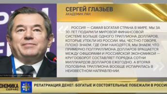 Мы за 30 лет подарили мировой финансовой системе больше триллиона долларов: академик РАН прокомментировал репатриацию средств в РФ
