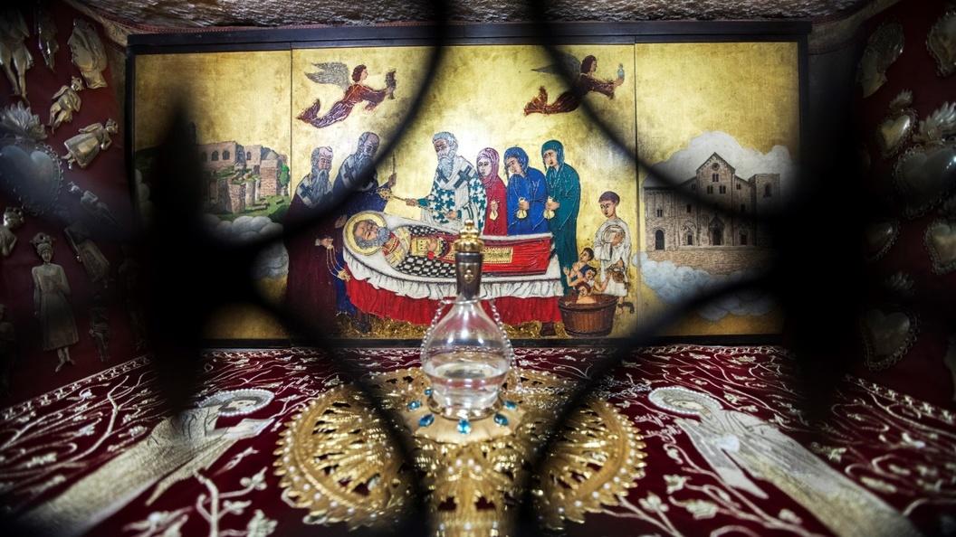 Русская земля встречает мощи святителя Николая Чудотворца