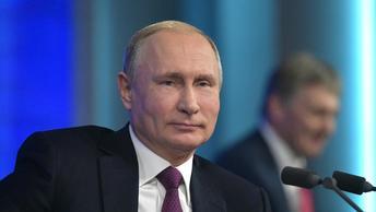 Большая пресс-конференция Владимира Путина. Закулисье - прямая трансляция