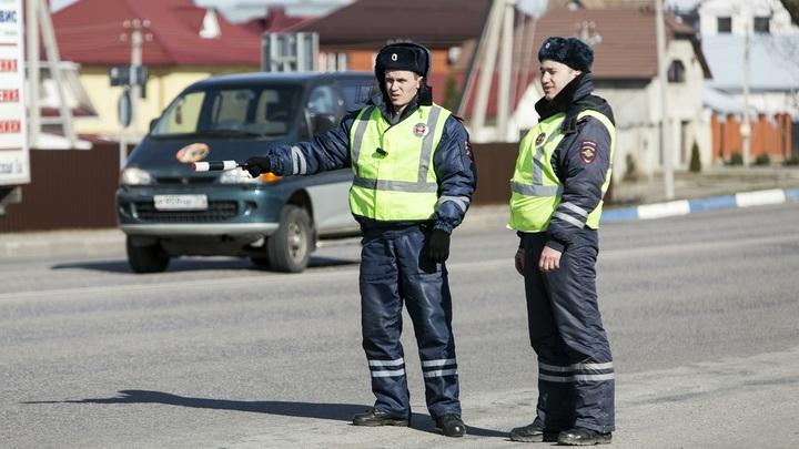 Пьяная автоледи из Нижнего Новгорода пыталась сбежать от полиции с помощью трюка из кино
