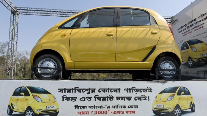 Tata Nano демпинговала цены на электрокары по всему миру