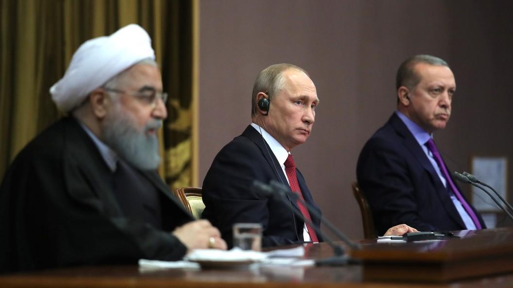 Гражданам Сирии предстоит самостоятельно решить будущее собственной страны— Путин