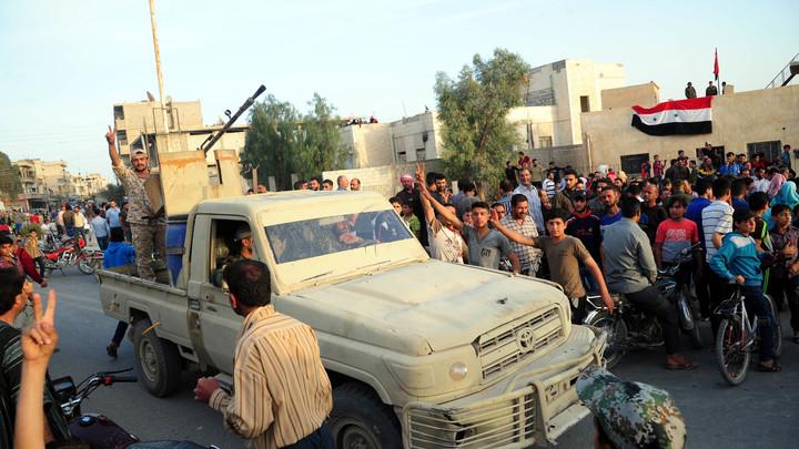 США попались на горячем: На складе террористов в Сирии нашли американские ракеты ТOW