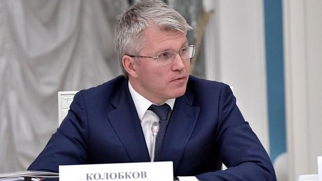 Министр спорта РФ Павел Колобков проголосовал в Новогорске