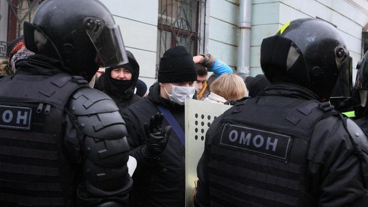 Несанкционированная акция в поддержку Навального 21 апреля в Нижнем Новгороде: онлайн-трансляция