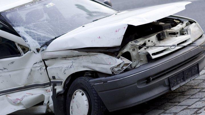 Снегопад стал причиной столкновения восьми автомобилей в Москве