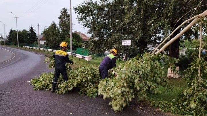 1986 домов в Кемерове остались без электричества из-за сильной грозы