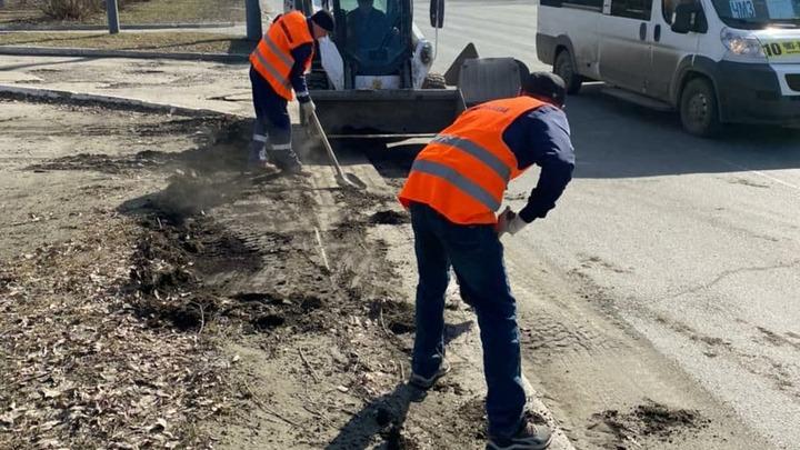 В Челябинске 12 апреля ограничили движение на двух дорогах