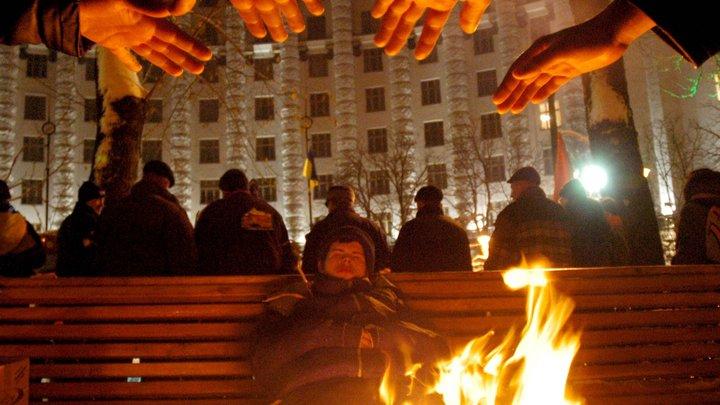 Киев в огне: укронацисты и змагары вышли на Майдан