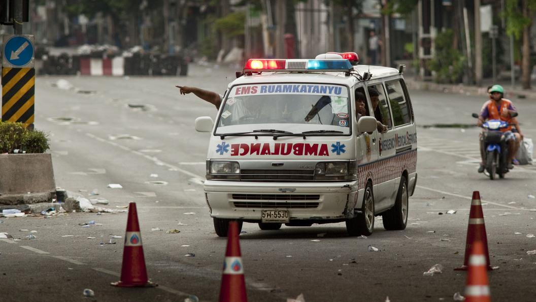 ВТаиланде рухнула карусель, пострадали 15 человек