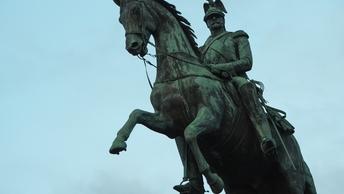 В воинской части в Невинномысске установили памятник императору Николаю I