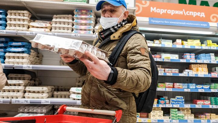 100 рублей за десяток!: в Кургане резко подорожали яйца