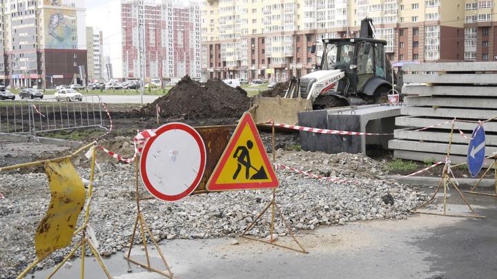 26 апреля в Челябинске ограничили движение сразу на шести улицах