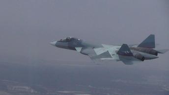 Боевикам придется несладко: В Сирии замечен новейший Су-57