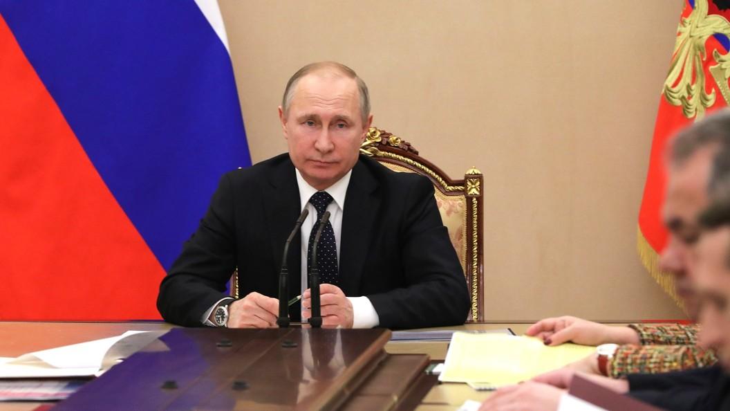 Путин подписал закон оструктурных облигациях