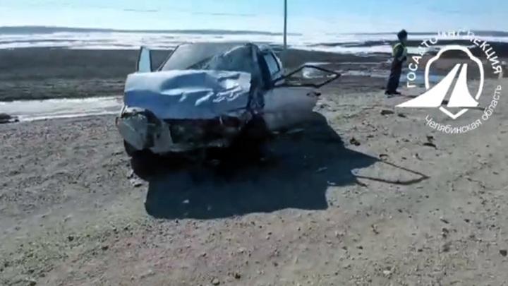 Женщина устроила аварию с пострадавшими в Челябинской области