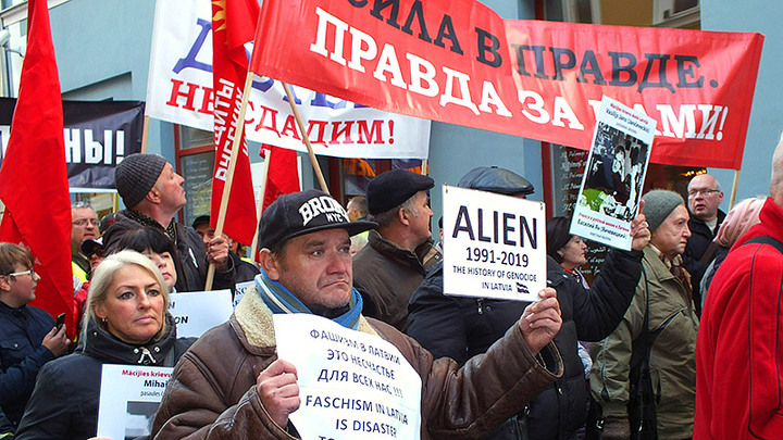 Бесправный разделённый европейский народ. Русские в Прибалтике