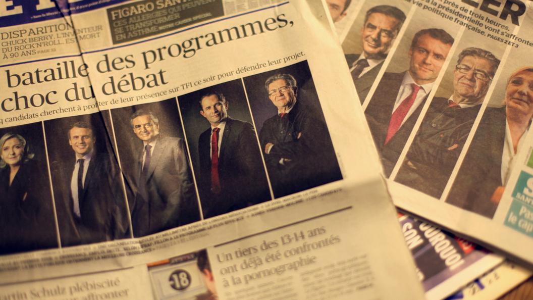 7 фактов о президентских дебатах во Франции