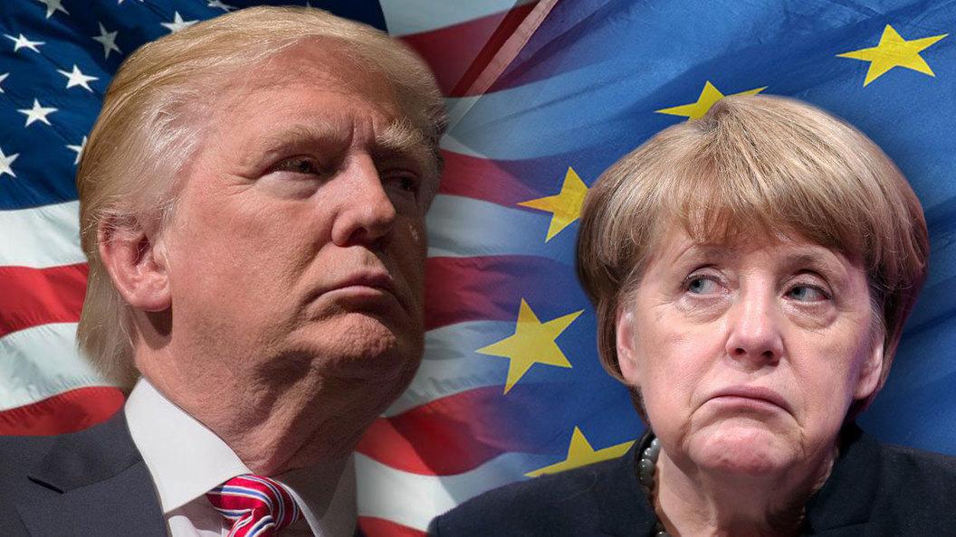 Трамп послал Меркель черную метку и заявил, что пока доверяет Путину
