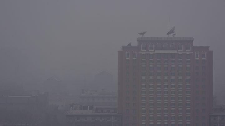 В Пекине объявили желтый уровень опасности из-за токсичного смога