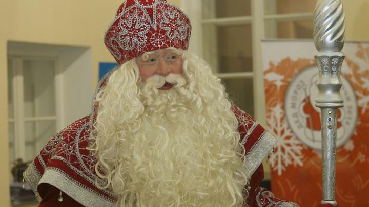 Дед Мороз прибыл в Грозный в преддверии Нового года