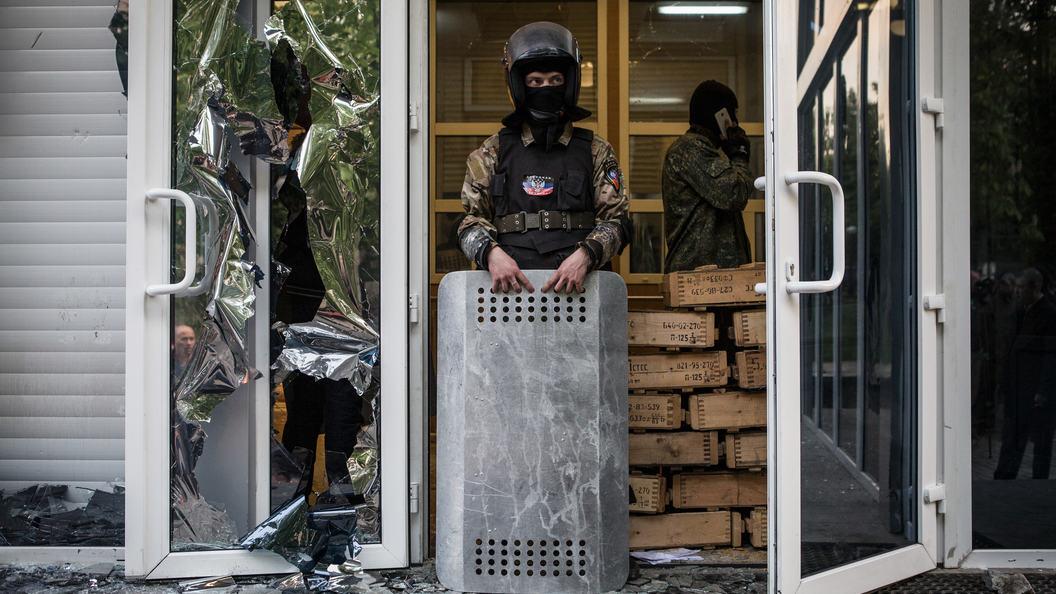 Басурин: Взрыв в центре Донецка предварительно расцениваем как диверсию