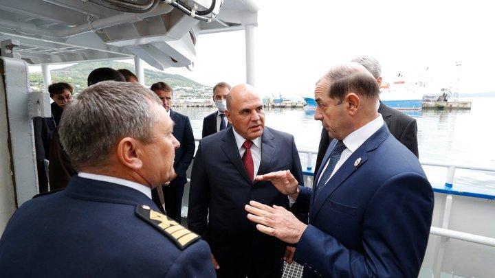 Дальневосточная рыбалка Мишустина закончилась ипотекой от Силуанова
