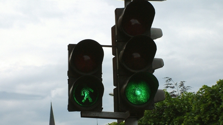 В Кемерове изменится схема движения на перекрестке улиц Радищева и Баумана