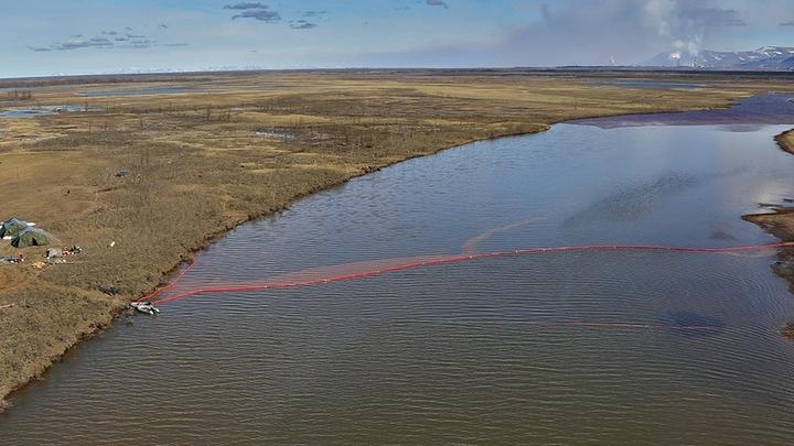 Разлилось аж до Арктики: Нефтяное ЧП в Норильске назвали самым масштабным на планете