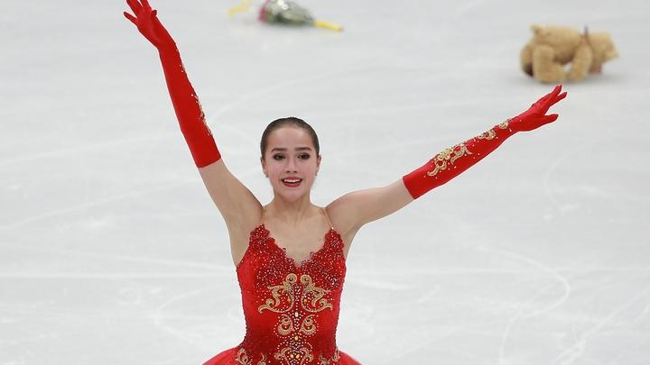В короткой программе финала Гран-при российские фигуристки забрали два призовых места