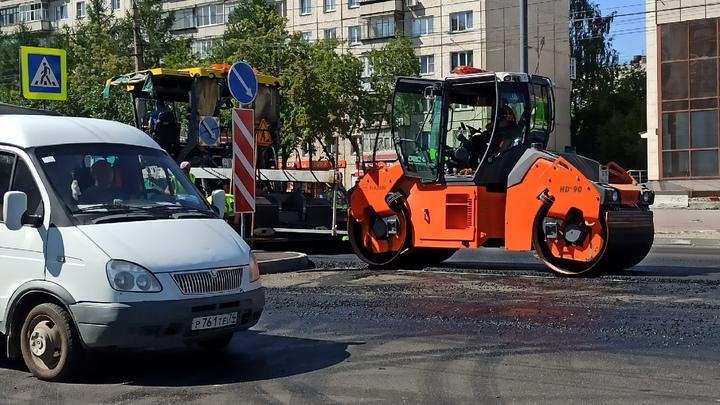 В Челябинске до 20 сентября ограничили движение по Комсомольскому проспекту