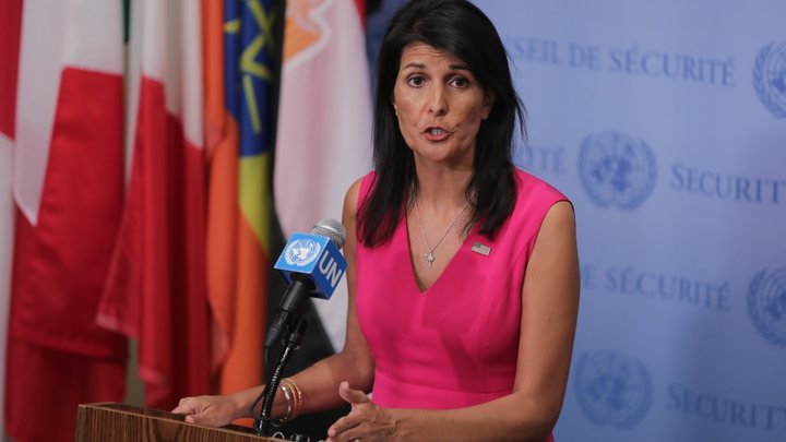 Хейли: Бомбивший Сирию Трамп выступит на Генассамблее ООН