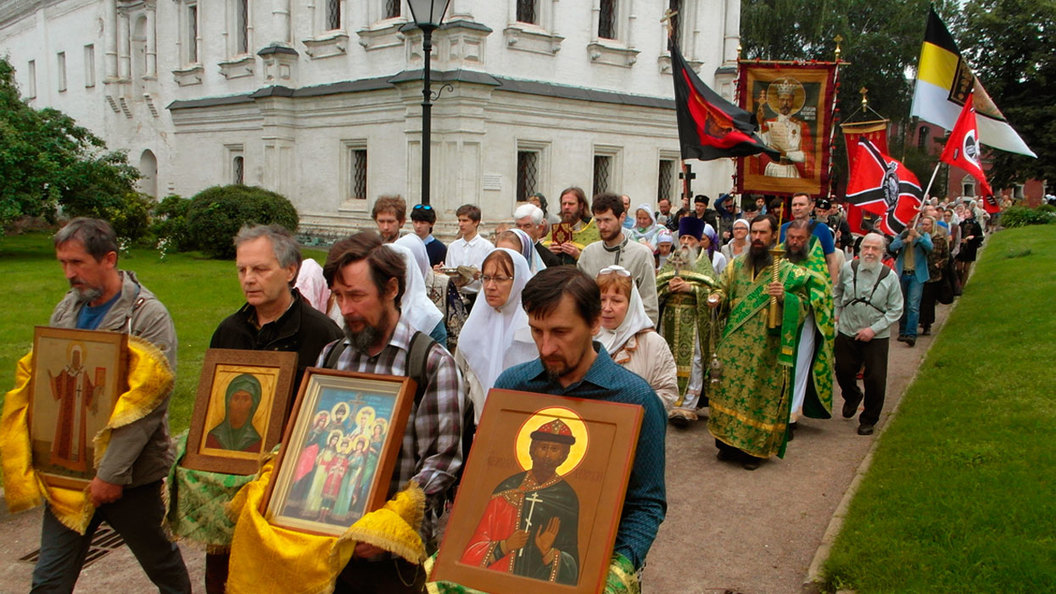 Крестный ход в память о преданном царе и в честь царя грядущего