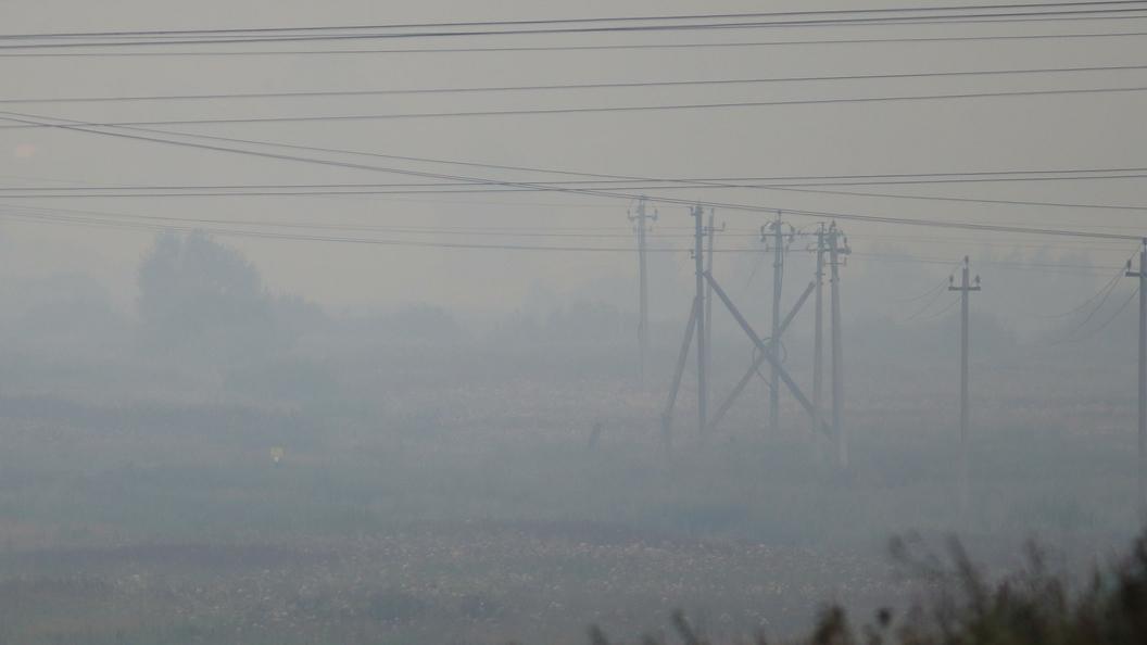 ВХабаровске зафиксированы небольшая задымлённость и большое количество пожаров в Китайская республика