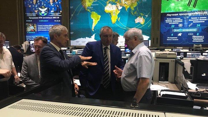 Рогозин отчитался о действиях Роскосмоса после аварии «Союза-ФГ»