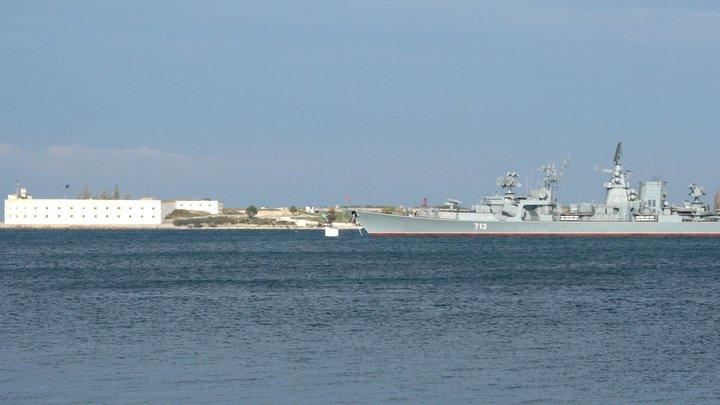 Они ещё и Черноморский флот уничтожили - вы не знали? Победа керченских провокаторов превратилась в анекдот
