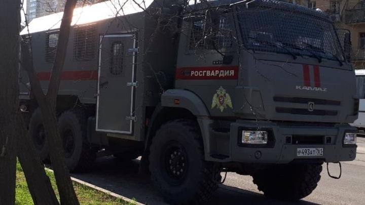 В Ростове были задержаны около десяти участников акции в поддержку Навального