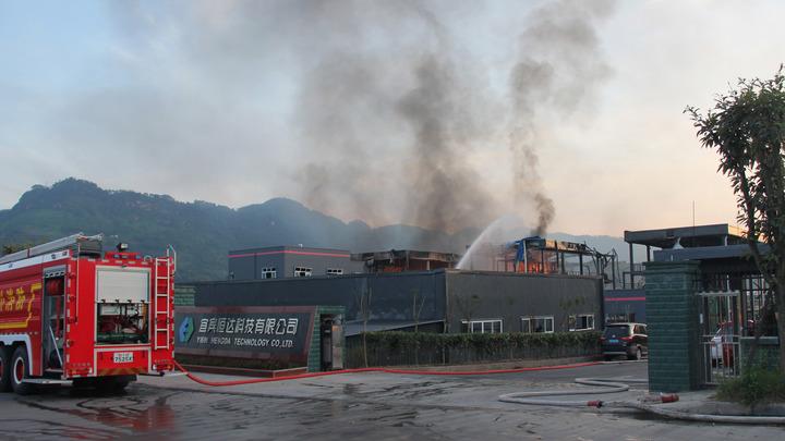 Взрыв на заводе в Китае унес жизни 19 человек