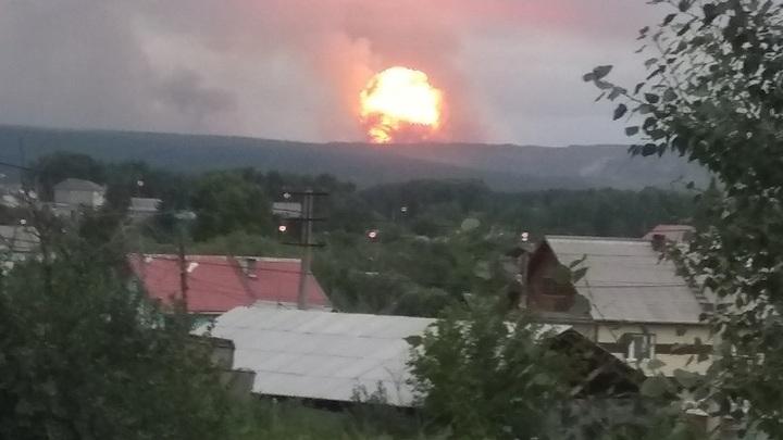 Пострадавших от взрывов на складе под Ачинском уже 40 человек - источник