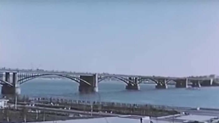 Шарль де Голль в Новосибирске: Обнаружено неизвестное ранее цветное видео 1966 года