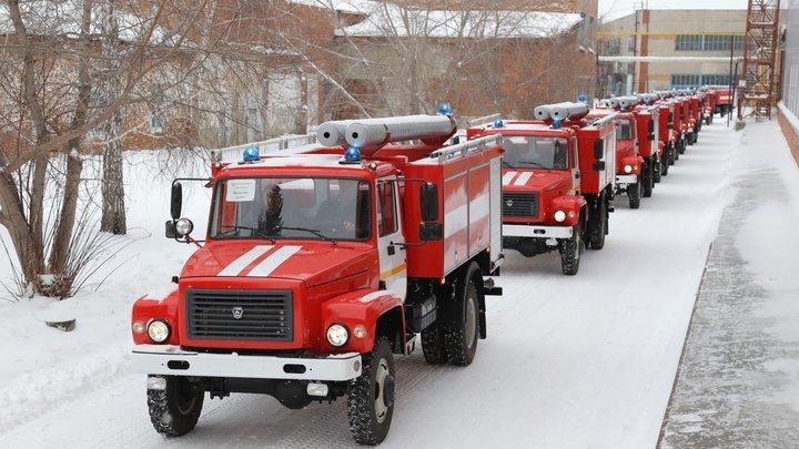 В Новосибирске во время пожара в кулинарии погиб мужчина