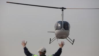 Вертолет Robinson потерпел крушение в Ставрополье, есть жертвы
