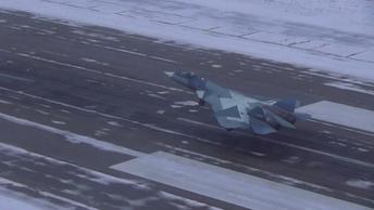 Источники назвали цели новейших Су-57 в Сирии