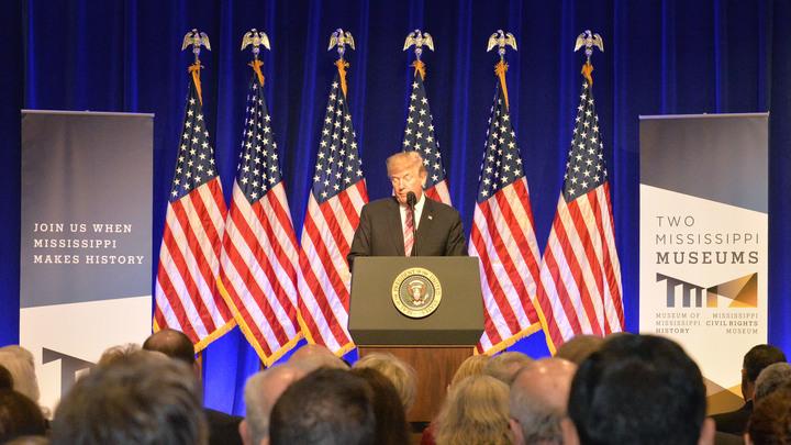 Трамп открестился от частых просмотров телевизора