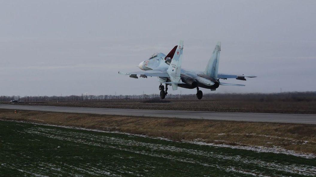 Датские истребители F-16 поднимались ввоздух для перехвата русского Су-34