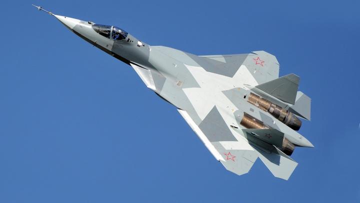 За пацанов: Новейшие Су-57 отомстили боевикам и американским наемникам за наших героев в Гуте