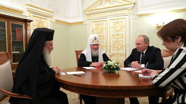 Сохранение церковного единства - забота каждого из нас: Завершился визит Иерусалимского Патриарха Феофила III в Москву