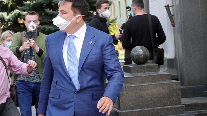 Зеленский после назначения Саакашвили выдал ему напутствие