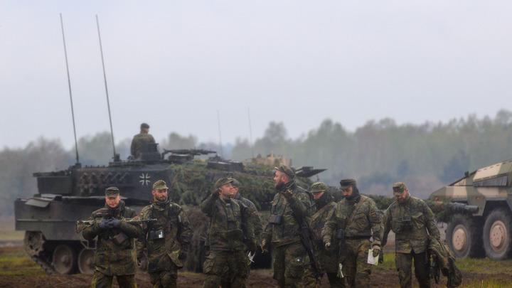 Немцы устроили скандальную вечеринку в Литве. Бундесверу пришлось извиняться
